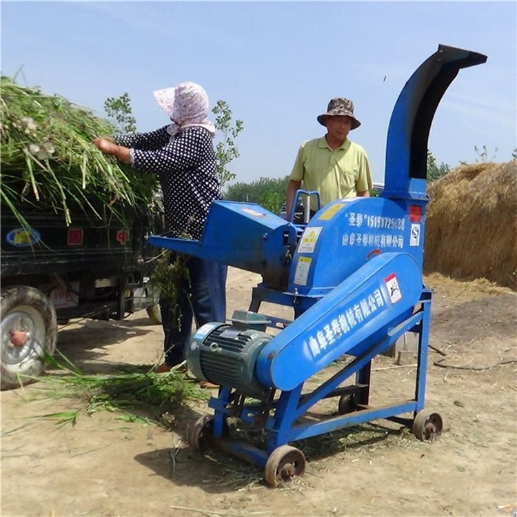 家用小型玉米秸稈粉碎切草機廠家 花生秧粉碎鍘草機價格