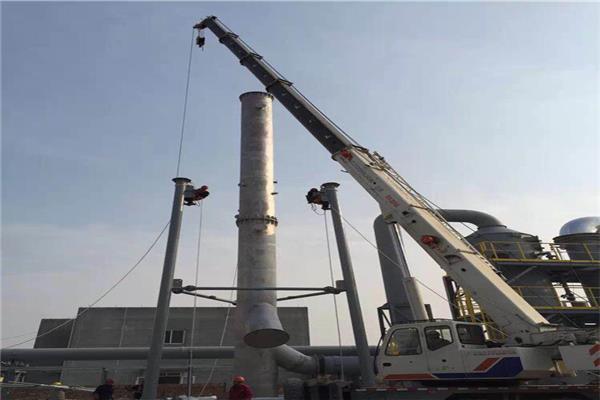 寧夏鋼煙囪制作安裝公司報價 Q235