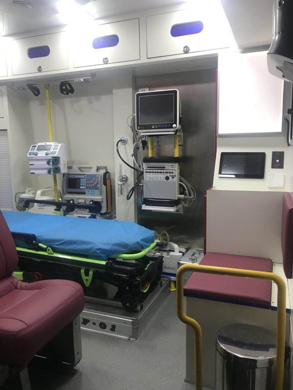 九江120长途救护车出租24小时热线