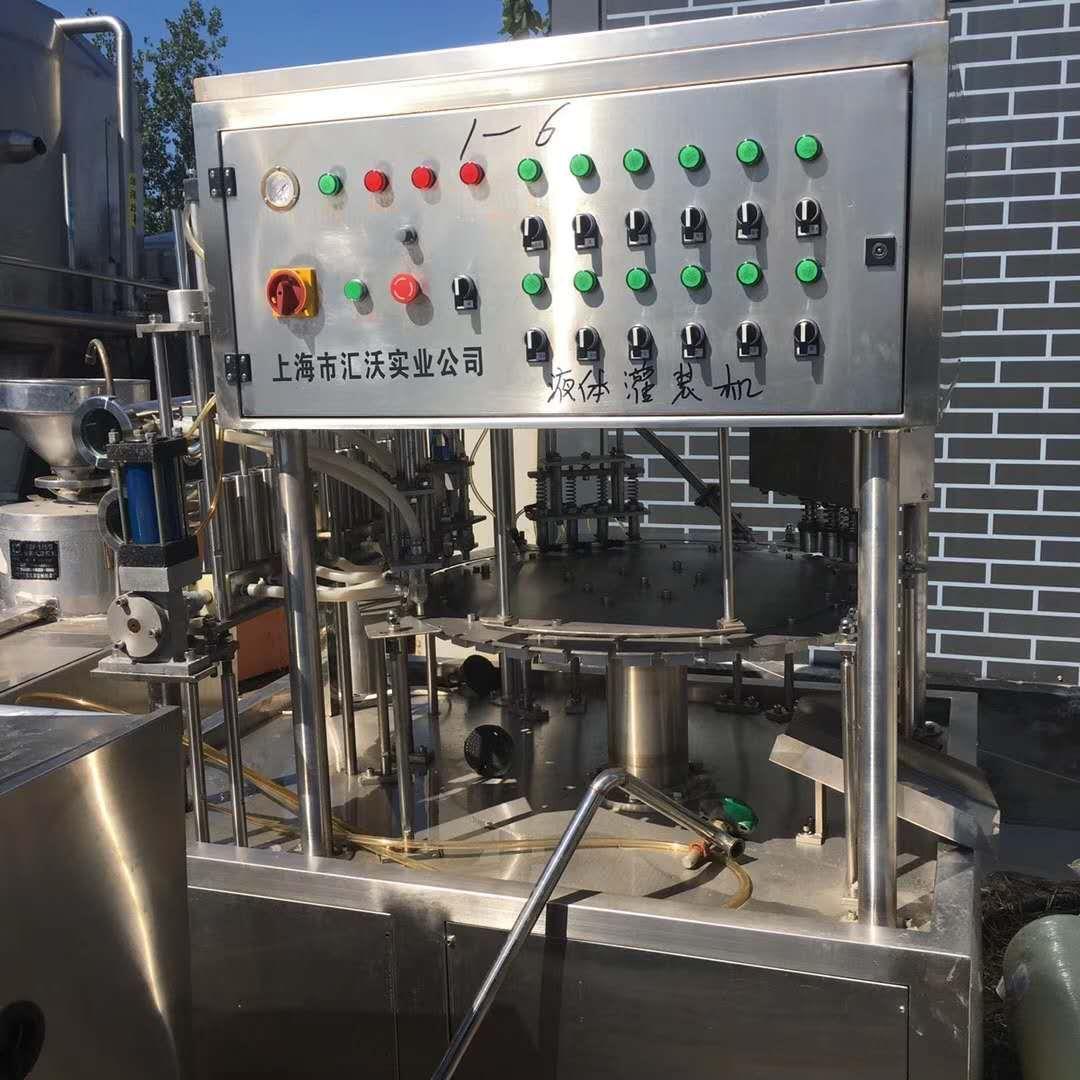 湖州回收饮料厂 设备 生产线