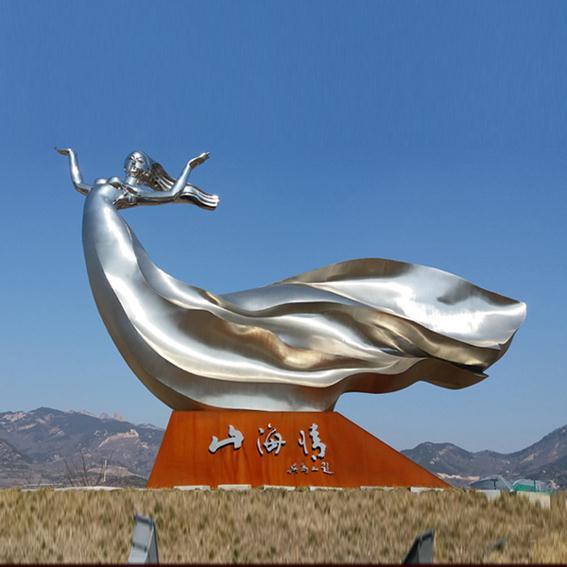 云浮不锈钢雕塑生产