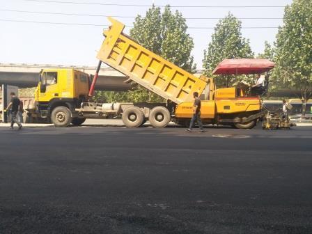 鄭州攤鋪道路瀝青|瀝青攪拌站|施工公司