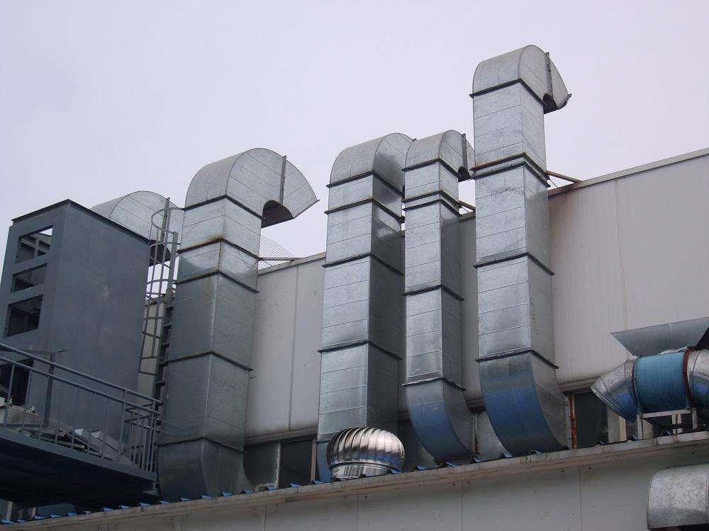 范縣廚房排煙管道設計