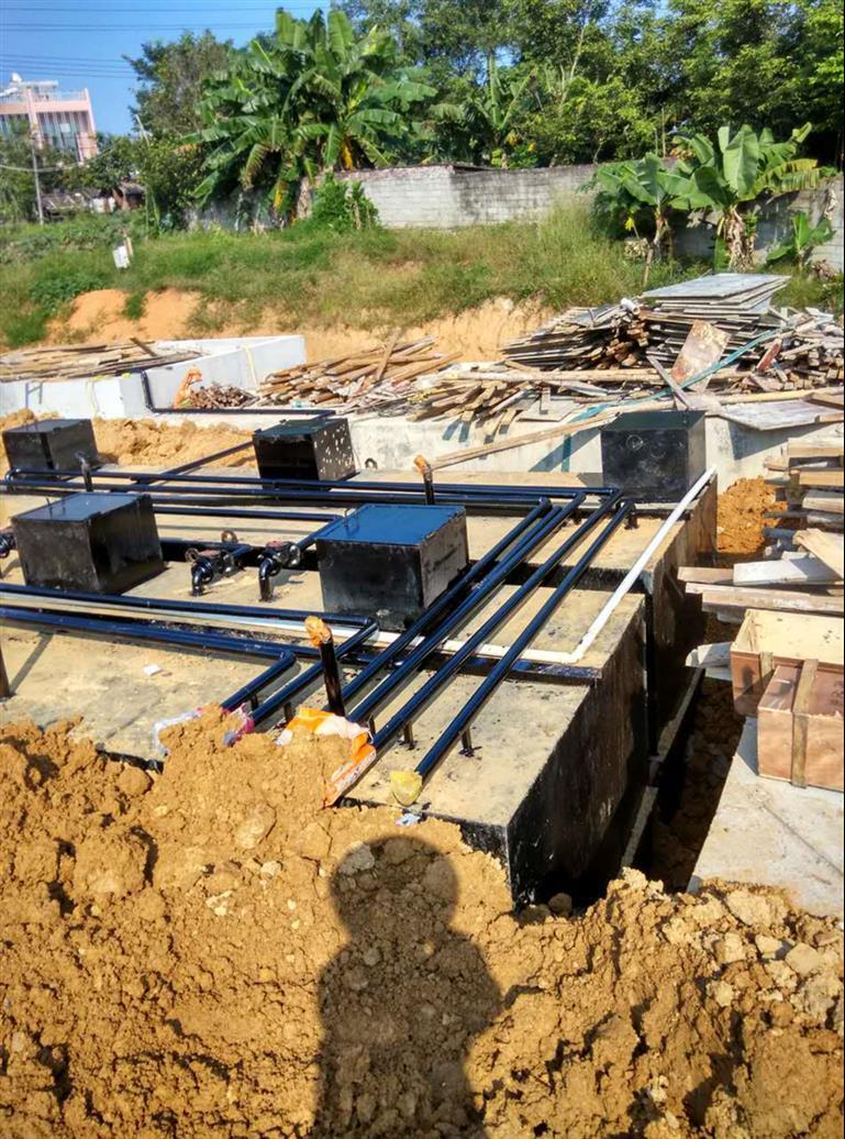 上饶地埋式污水处理设备