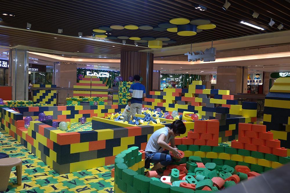 潮州积木乐园儿童竞技项目