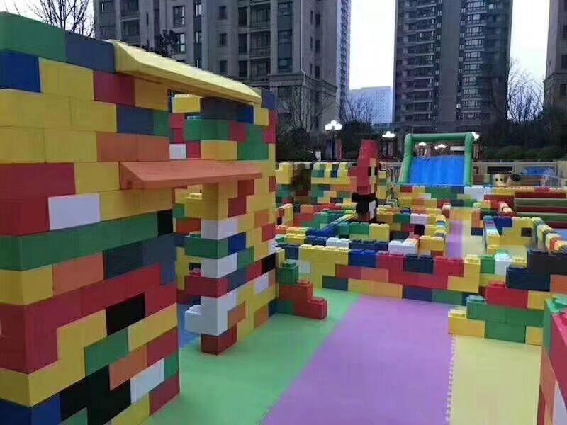 四平积木乐园儿童主题道具出租