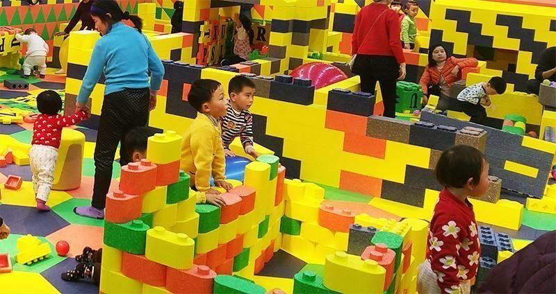 沈阳积木乐园儿童趣味项目