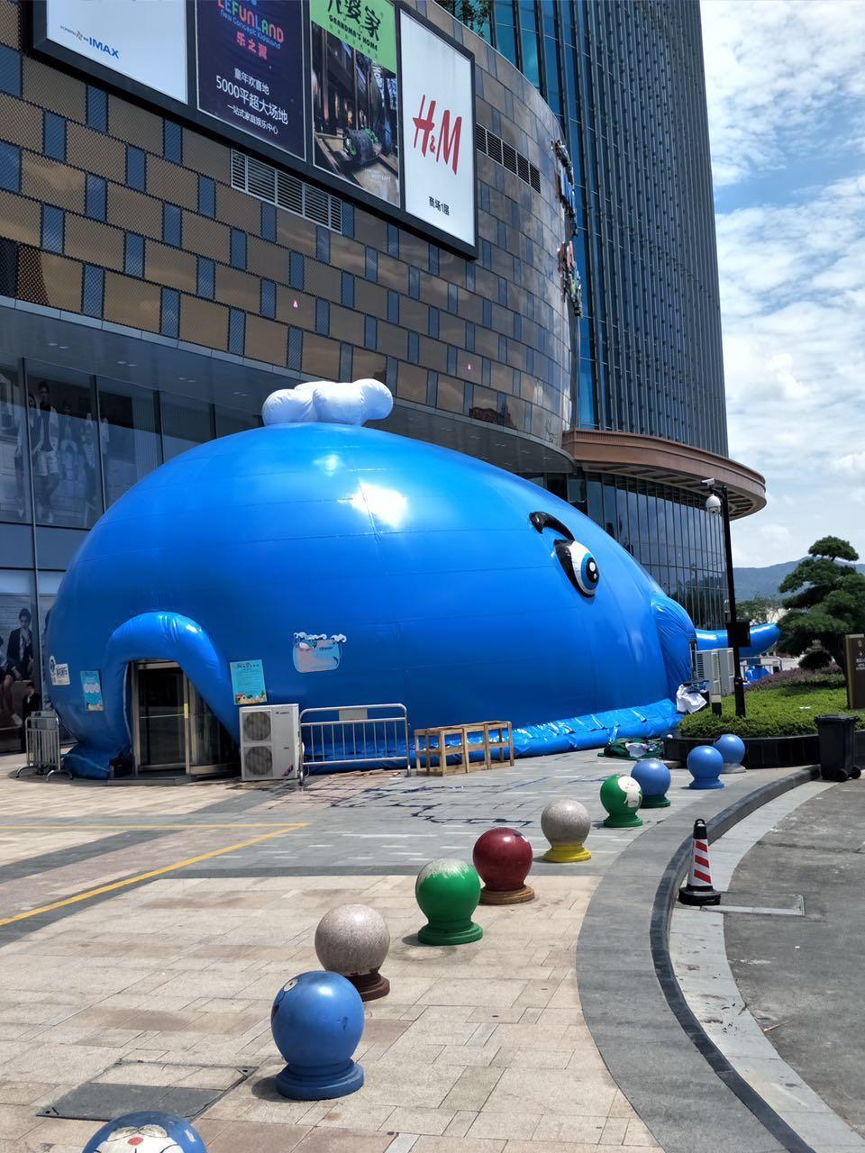 乐东黎族自治县透明鲸鱼岛乐园设备租赁