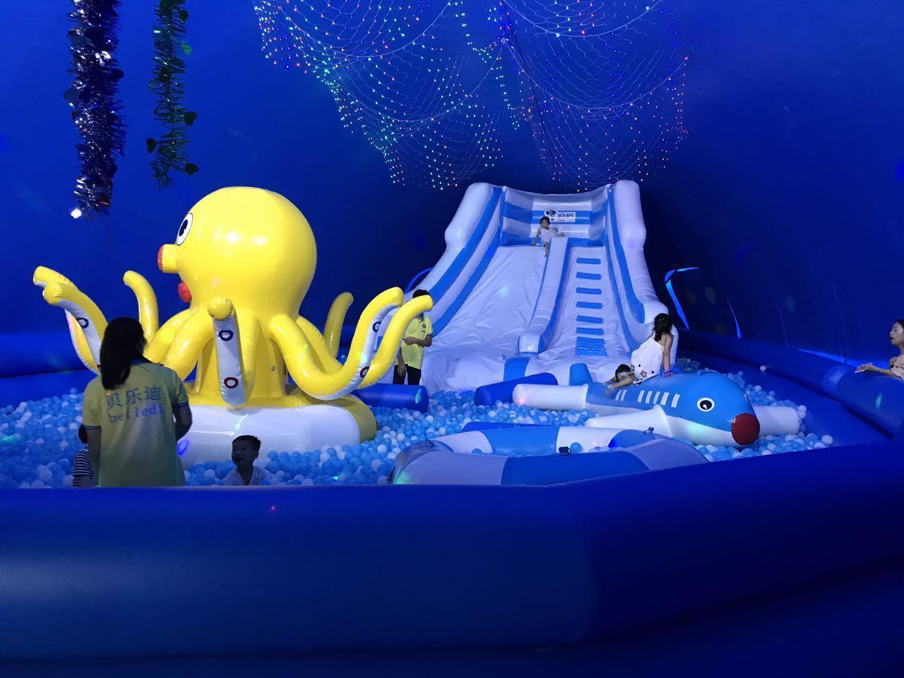 益阳透明鲸鱼岛乐园