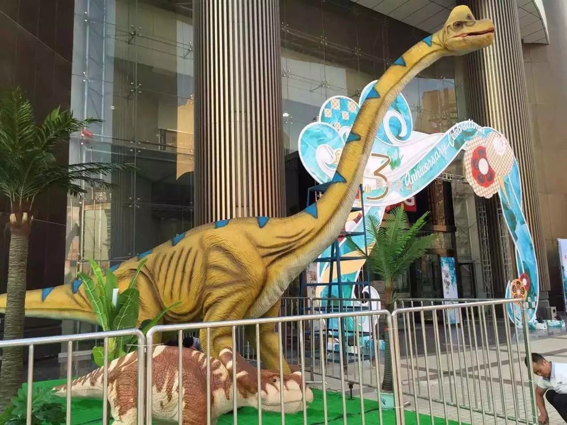 宁夏恐龙模型恐龙主题嘉年华