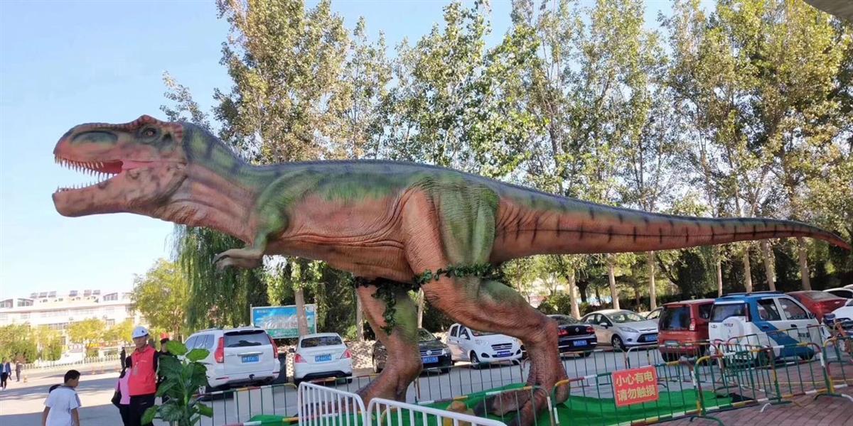 沧州恐龙模型暖场道具租赁