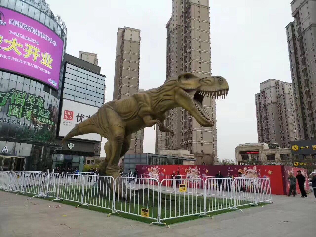 锡林郭勒盟恐龙模型主题道具出租