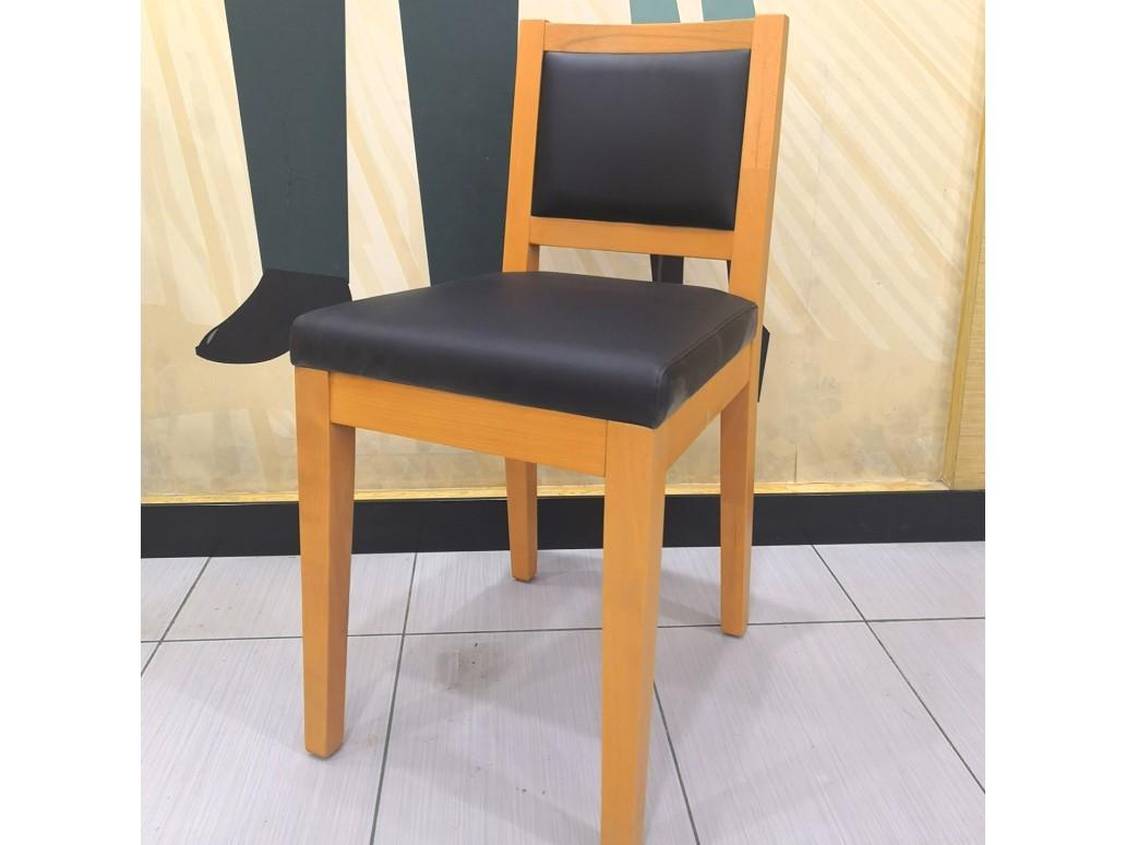 肯德基快餐桌椅批发厂家特价处理实木靠背椅售完即止