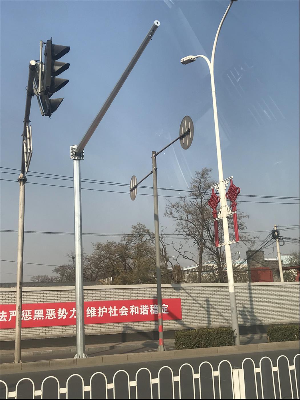 南京小區監控立桿廠家