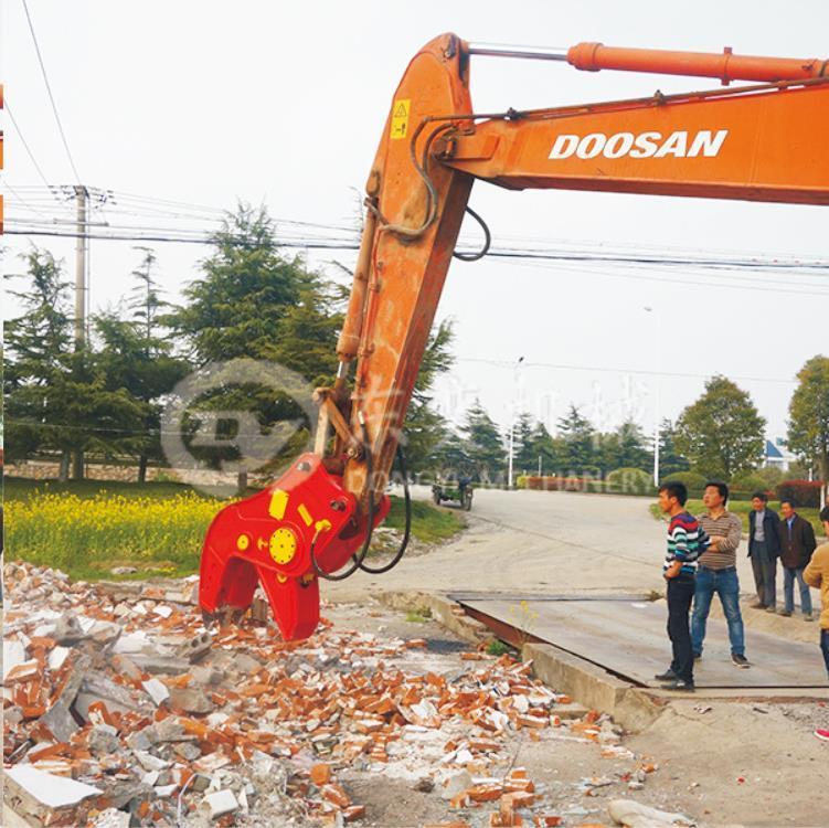 徐州挖掘机粉碎钳多少钱 东奕