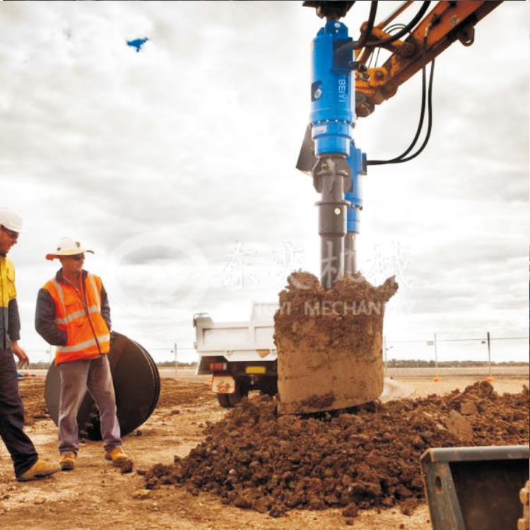 贵港挖掘机钻孔机厂家直销