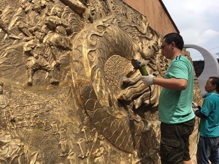 抚州浮雕文化墙