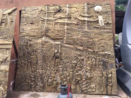 海南浮雕壁画