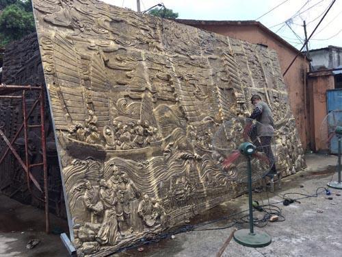 中山浮雕雕塑