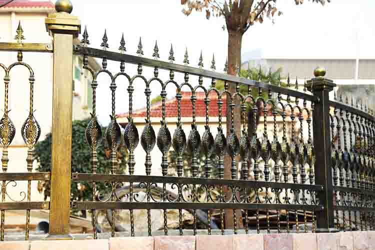 固格瀾柵 私宅特色創意鐵圍墻欄桿 不生銹柵欄 可批發