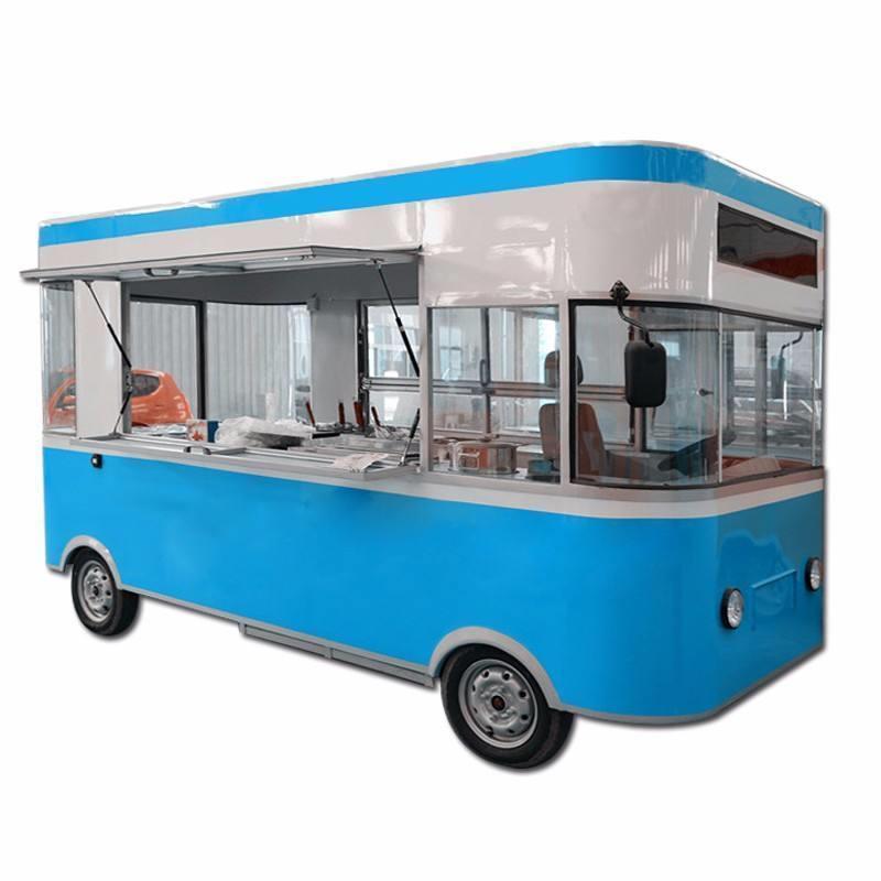 六安流动快餐车电动餐车价格报价