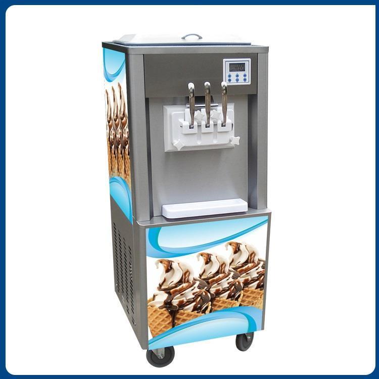 六安冰激凌机三色冰淇淋机**教技术