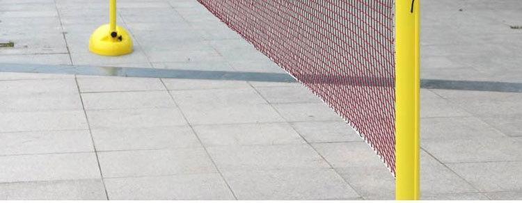 三亚移动式羽毛球柱