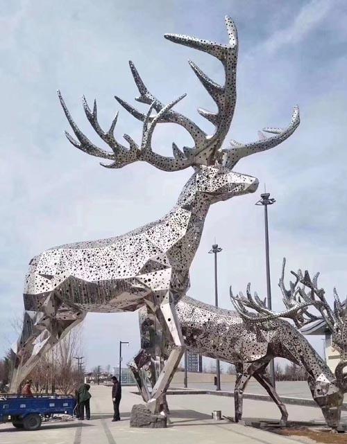 梅州铜马雕塑