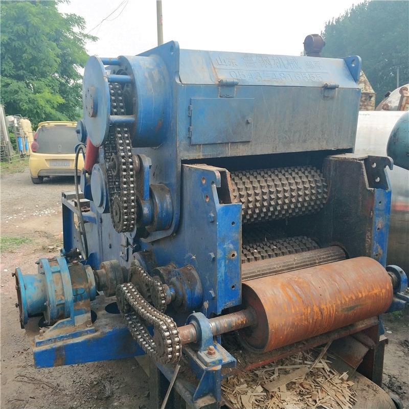 淄博回收二手木材削片机