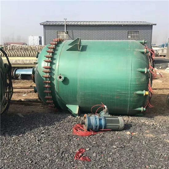 杭州回收二手搪瓷反应釜