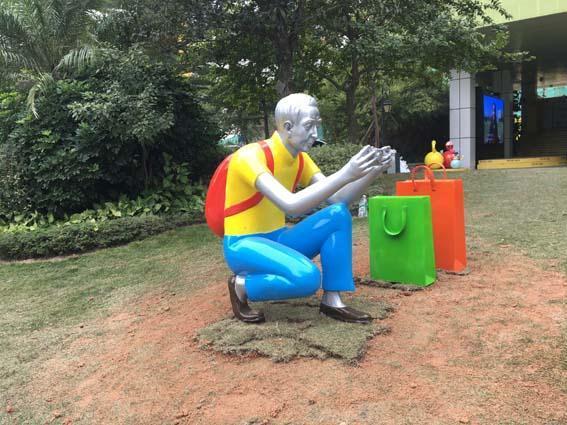 龙岩公仔造型雕塑