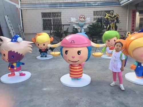 惠州卡通雕塑公司