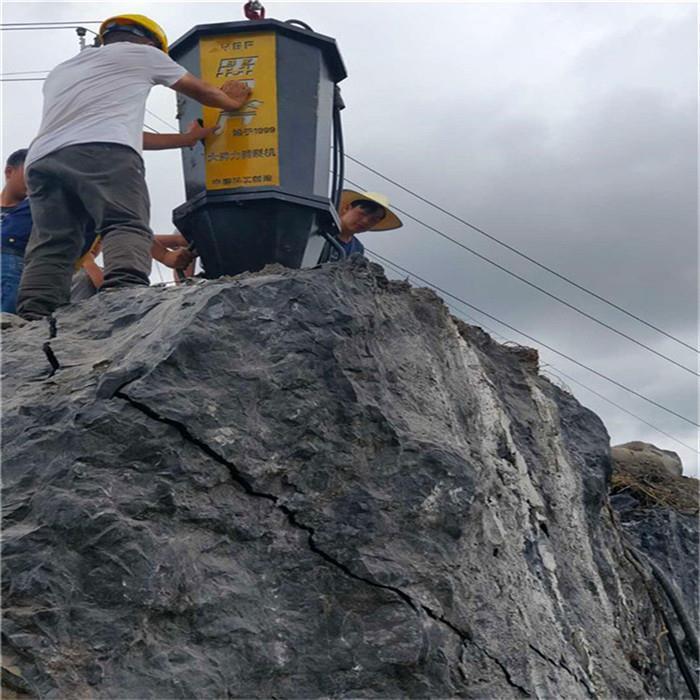 扬州岩石分裂棒劈裂机