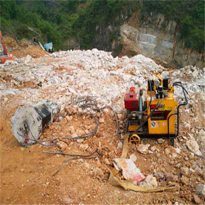 吴忠岩石分裂棒劈裂器