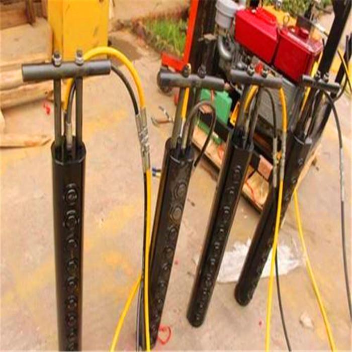 保定电动液压顶石机生产