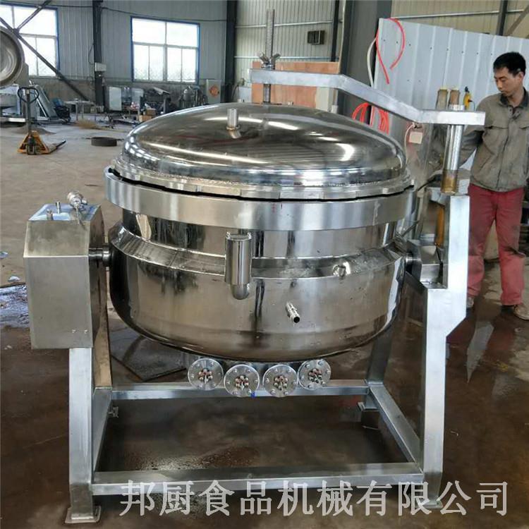 全自动高温高压蒸煮锅制作