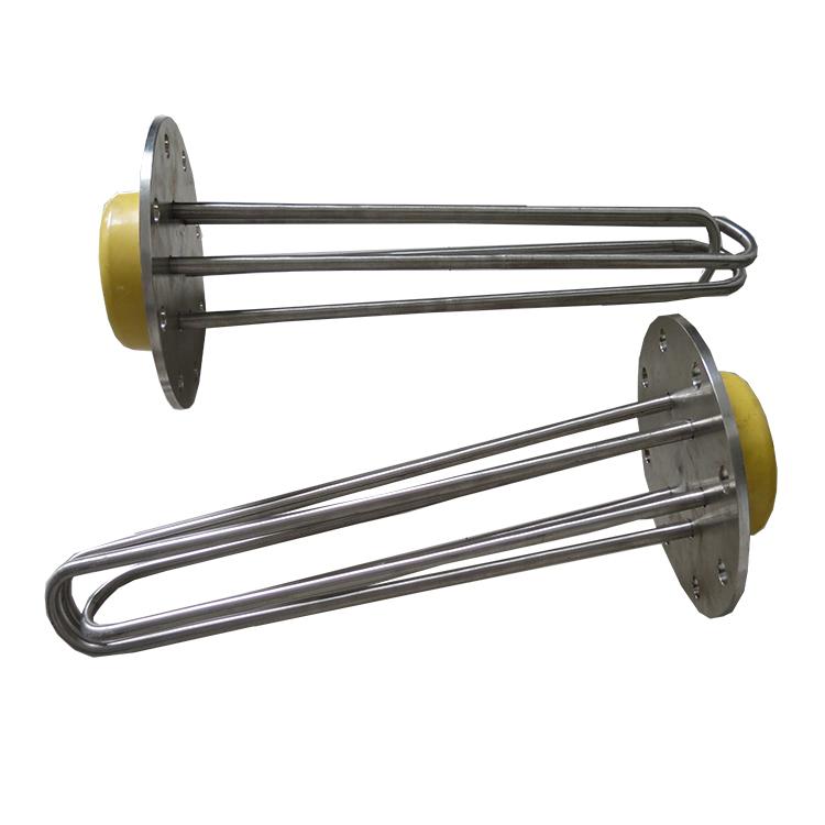 厂家供应法兰加热管 管状电热元件 可定制各种电加热管