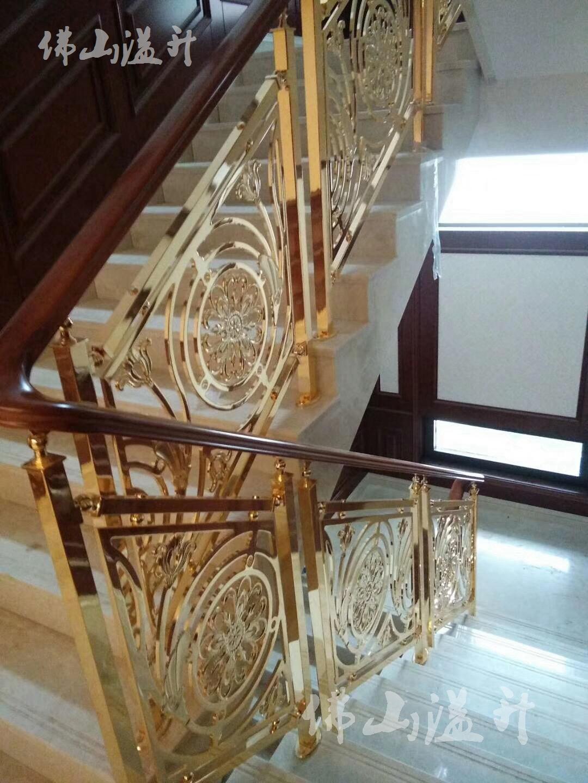 新款铝艺楼梯扶手制作