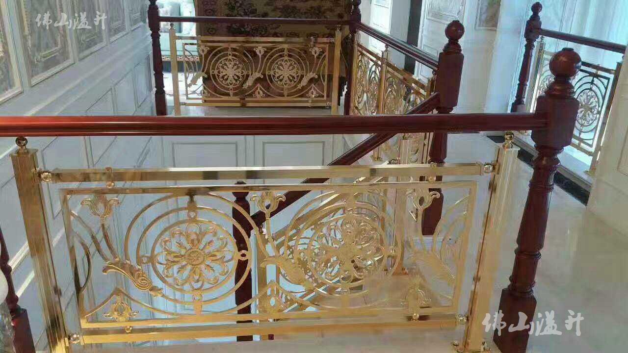 泰州专业铝艺楼梯扶手厂
