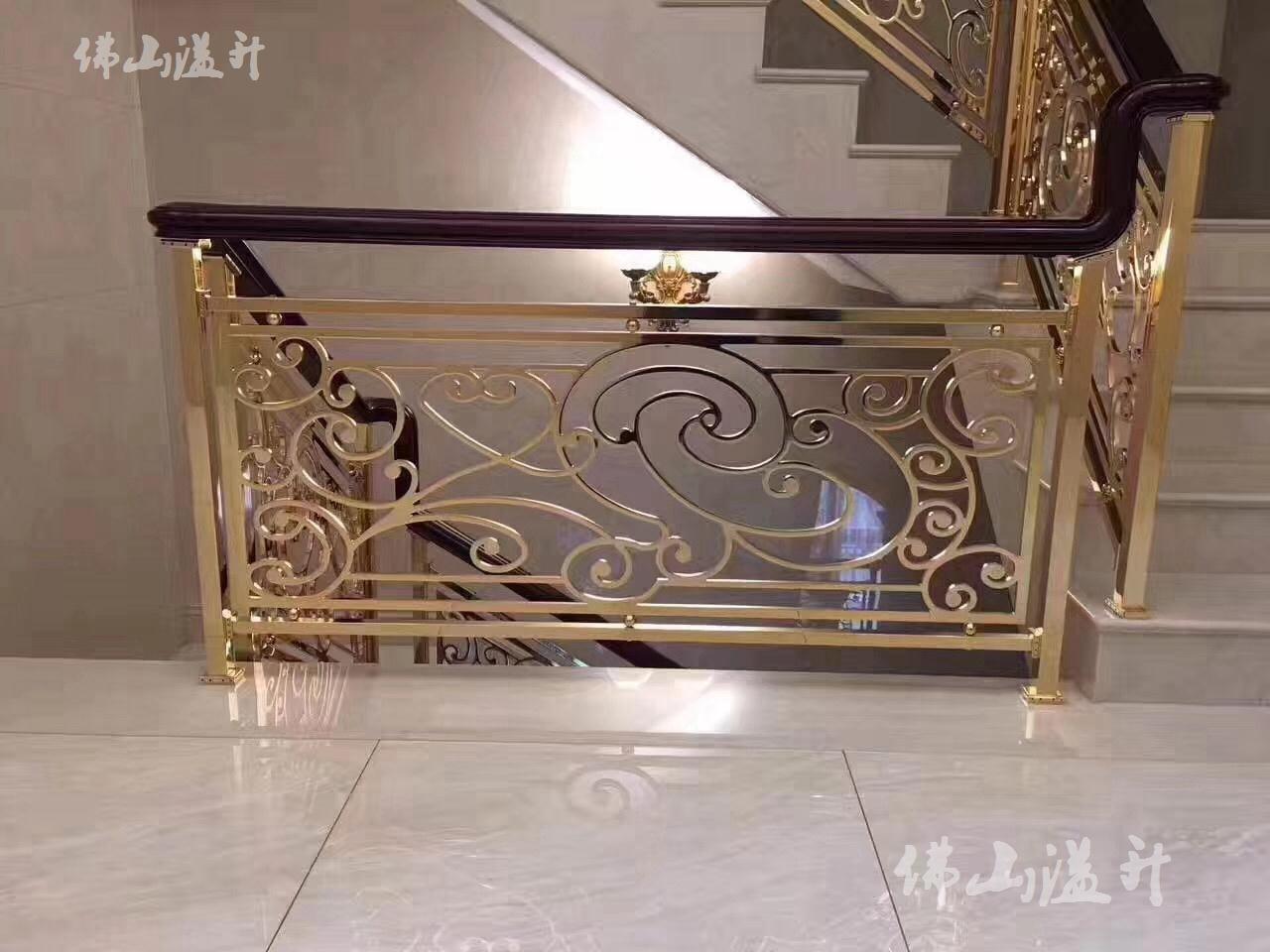 南昌专业铝艺楼梯扶手厂