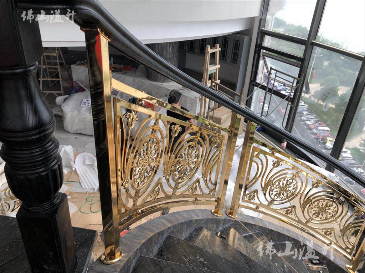 宁波优质铝艺楼梯扶手厂