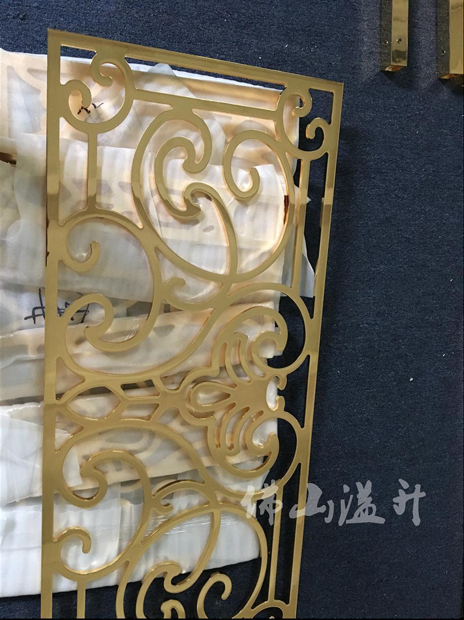 佛山知名铜艺楼梯护栏