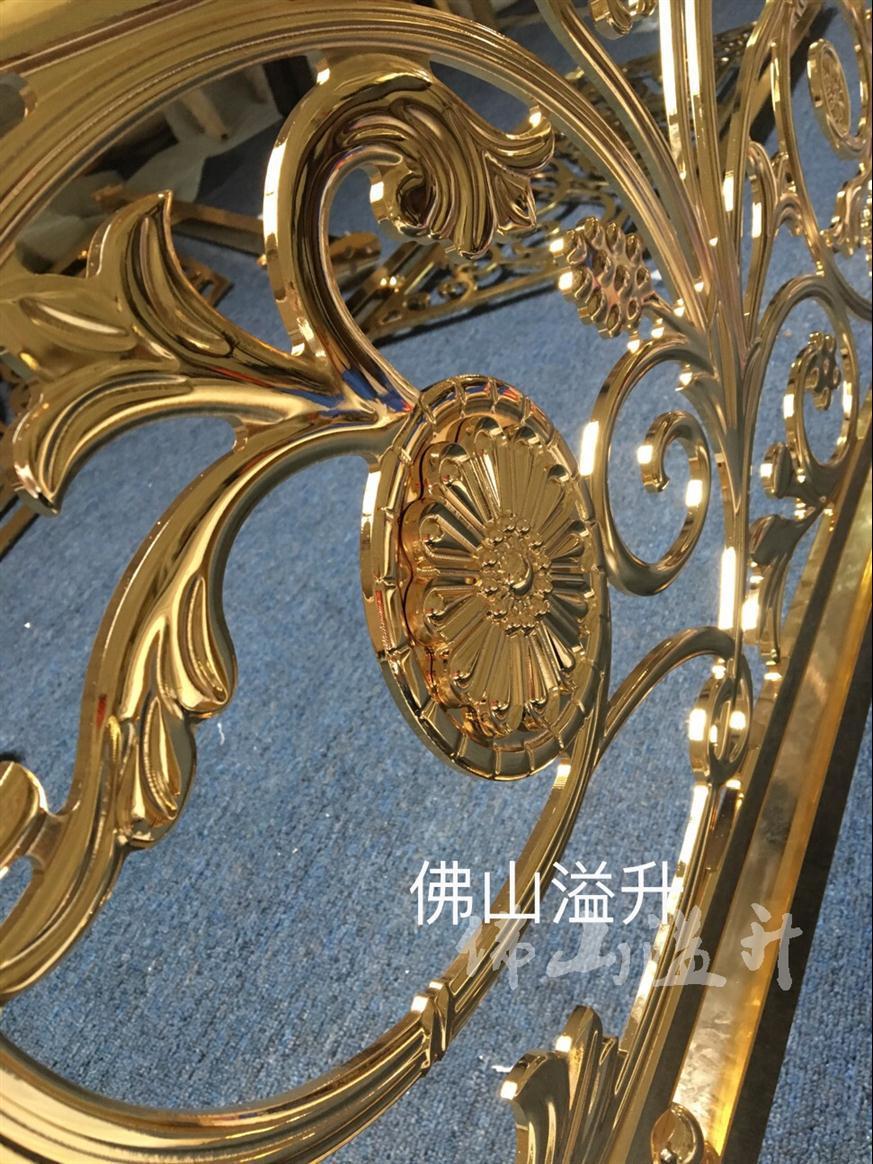 保定安全铜艺楼梯护栏