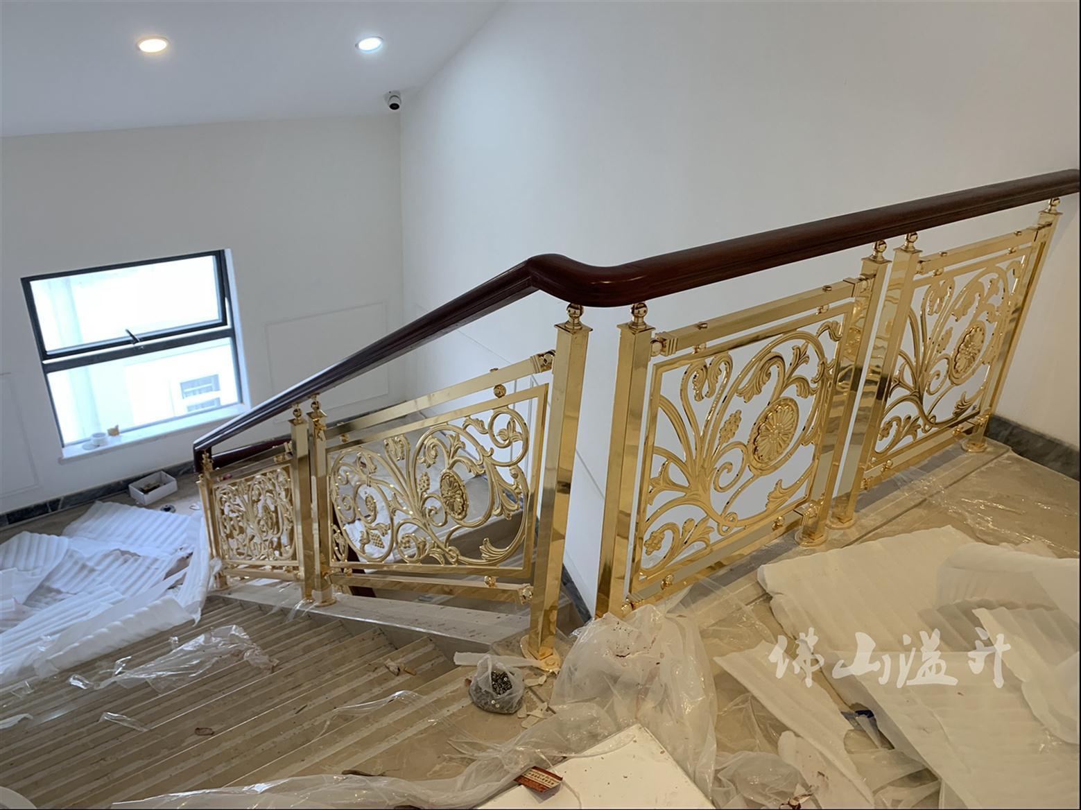合肥铜艺楼梯护栏厂