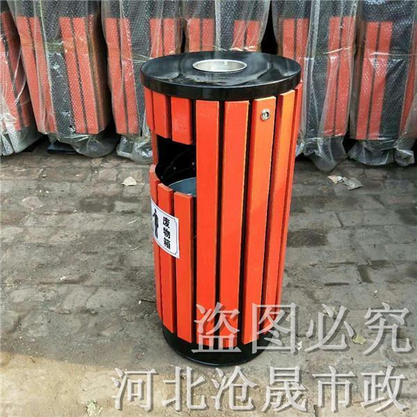 潍坊铁皮垃圾桶果皮箱