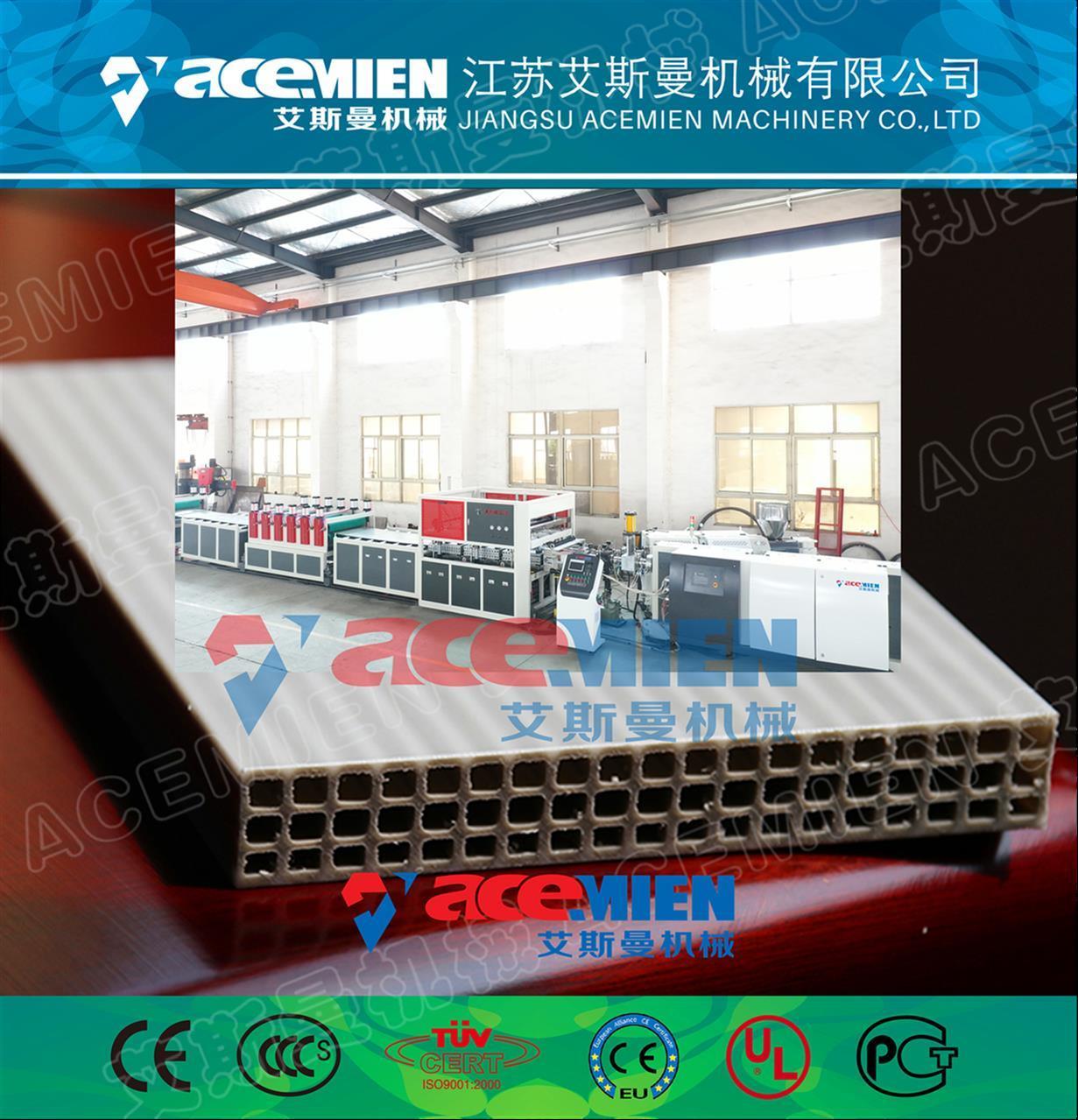 塑料中空模板設備、中空塑料建筑模板設備