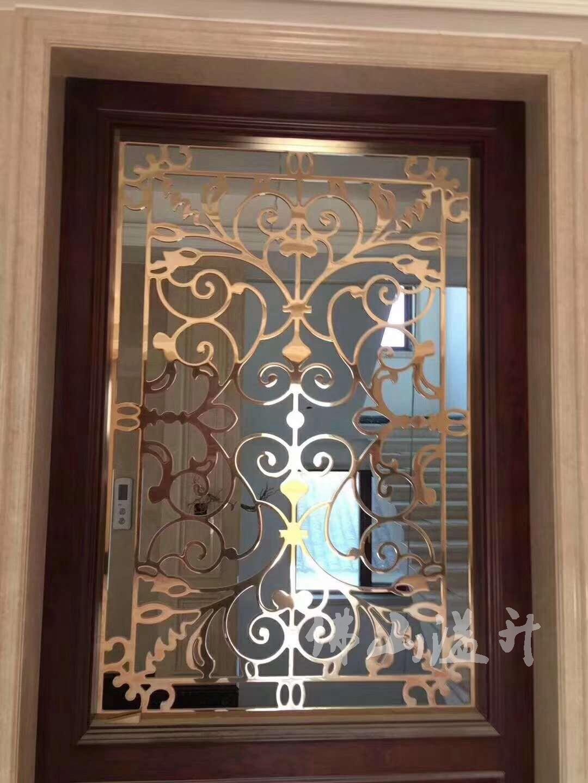 沧州红铜铜艺屏风