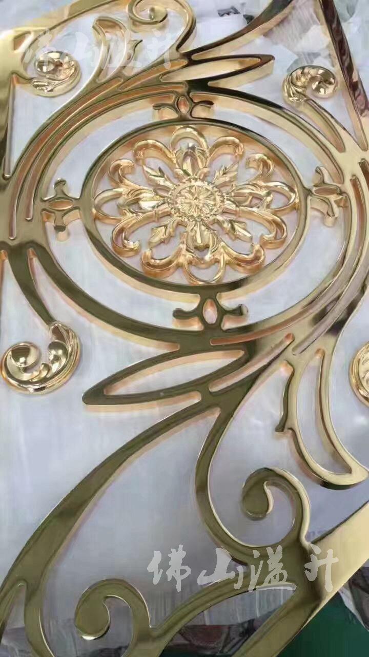 襄阳铝板雕刻扶手