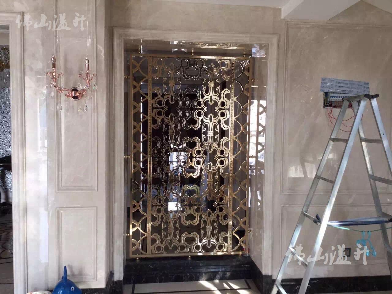 中山铝板雕花隔断