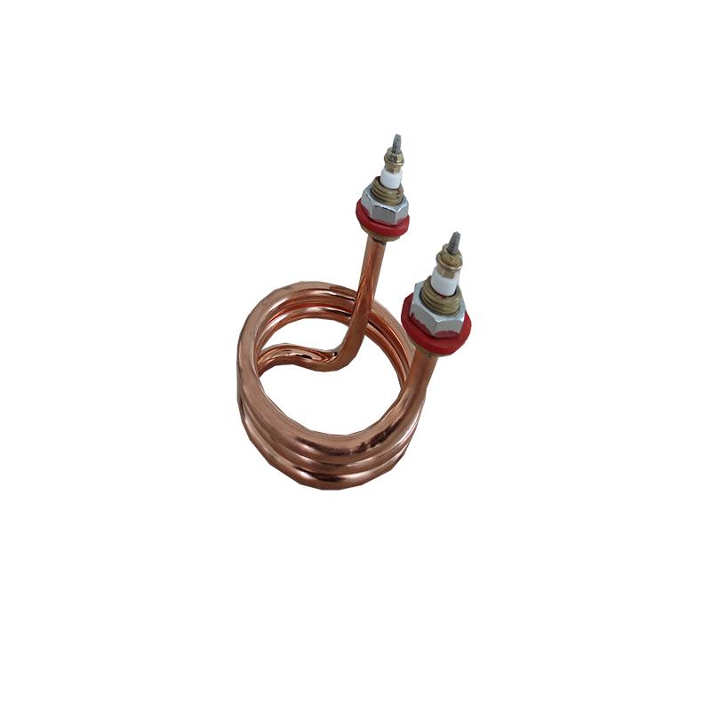 供應 螺旋狀 電加熱管 電加熱器 非標定做 異型電熱管